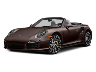 Mahogany Metallic 2014 Porsche 911 Pictures 911 Cabriolet 2D AWD H6 Turbo photos front view