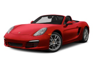 Guards Red 2014 Porsche Boxster Pictures Boxster Roadster 2D H6 photos front view