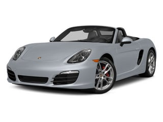 Rhodium Silver Metallic 2014 Porsche Boxster Pictures Boxster Roadster 2D S H6 photos front view