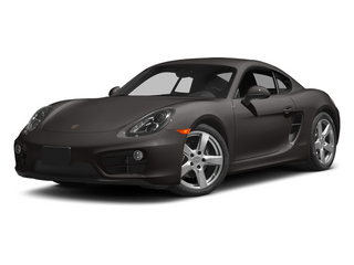Anthracite Brown Metallic 2014 Porsche Cayman Pictures Cayman Coupe 2D H6 photos front view