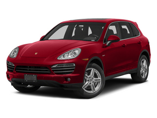 Carmine Red 2014 Porsche Cayenne Pictures Cayenne Utility 4D S AWD Hybrid V6 photos front view