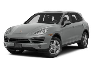 Classic Silver Metallic 2014 Porsche Cayenne Pictures Cayenne Utility 4D S AWD Hybrid V6 photos front view