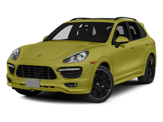 Peridot Metallic 2014 Porsche Cayenne Pictures Cayenne Utility 4D GTS AWD V8 photos front view