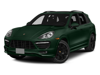 Jet Green Metallic 2014 Porsche Cayenne Pictures Cayenne Utility 4D GTS AWD V8 photos front view
