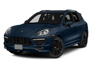 Dark Blue Metallic 2014 Porsche Cayenne Pictures Cayenne Utility 4D GTS AWD V8 photos front view