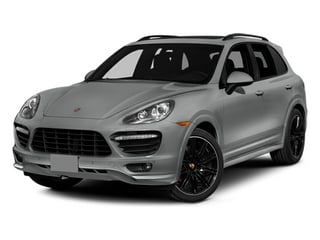 Classic Silver Metallic 2014 Porsche Cayenne Pictures Cayenne Utility 4D GTS AWD V8 photos front view