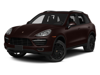 Mahogany Metallic 2014 Porsche Cayenne Pictures Cayenne Utility 4D AWD V8 Turbo photos front view