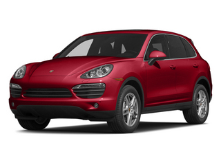 Carmine Red 2014 Porsche Cayenne Pictures Cayenne Utility 4D S AWD V8 photos front view