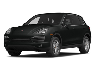 Jet Black Metallic 2014 Porsche Cayenne Pictures Cayenne Utility 4D AWD V6 photos front view