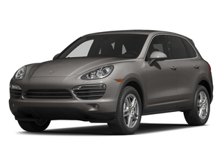Meteor Gray Metallic 2014 Porsche Cayenne Pictures Cayenne Utility 4D S AWD V8 photos front view