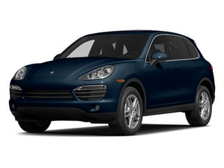 Dark Blue Metallic 2014 Porsche Cayenne Pictures Cayenne Utility 4D AWD V6 photos front view