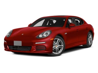 Carmine Red 2014 Porsche Panamera Pictures Panamera Hatchback 4D S V6 Turbo photos front view