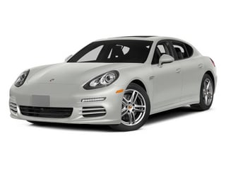 White 2014 Porsche Panamera Pictures Panamera Hatchback 4D S V6 Turbo photos front view