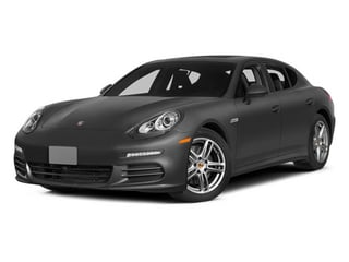 Carbon Gray Metallic 2014 Porsche Panamera Pictures Panamera Hatchback 4D S V6 Turbo photos front view