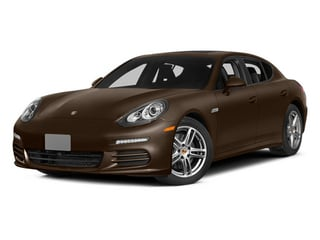 Chestnut Brown Metallic 2014 Porsche Panamera Pictures Panamera Hatchback 4D S AWD V8 Turbo photos front view