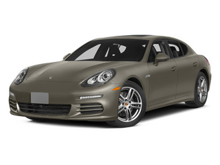 Palladium Metallic 2014 Porsche Panamera Pictures Panamera Hatchback 4D S AWD V8 Turbo photos front view
