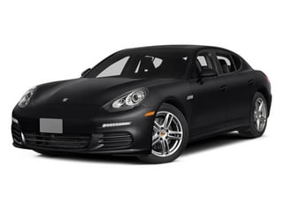 Black 2014 Porsche Panamera Pictures Panamera Hatchback 4D S V6 Turbo photos front view