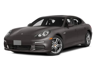 Agate Gray Metallic 2014 Porsche Panamera Pictures Panamera Hatchback 4D 4S V6 Turbo photos front view