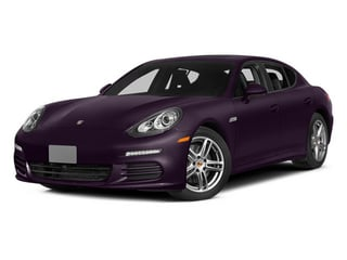 Amethyst Metallic 2014 Porsche Panamera Pictures Panamera Hatchback 4D S AWD V8 Turbo photos front view