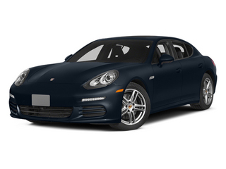 Yachting Blue Metallic 2014 Porsche Panamera Pictures Panamera Hatchback 4D S V6 Turbo photos front view