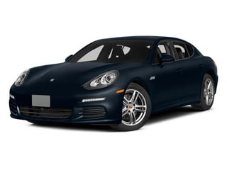 Yachting Blue Metallic 2014 Porsche Panamera Pictures Panamera Hatchback 4D S AWD V8 Turbo photos front view