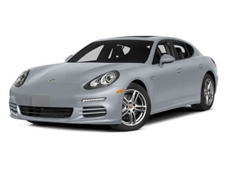 Rhodium Silver Metallic 2014 Porsche Panamera Pictures Panamera Hatchback 4D S AWD V8 Turbo photos front view
