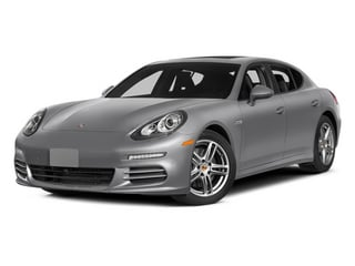 GT Silver Metallic 2014 Porsche Panamera Pictures Panamera Hatchback 4D S V6 Turbo photos front view