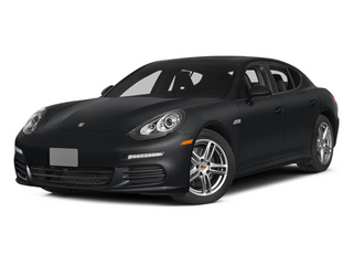 Basalt Black Metallic 2014 Porsche Panamera Pictures Panamera Hatchback 4D S V6 Turbo photos front view
