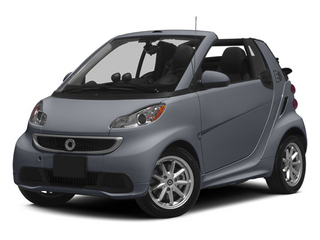 Gray Matte 2014 smart fortwo electric drive Pictures fortwo electric drive Convertible 2D Electric photos front view