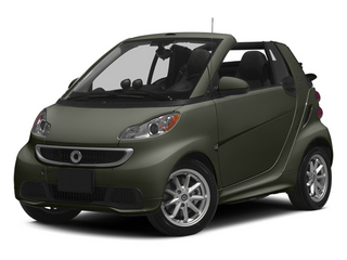 Gray Metallic 2014 smart fortwo electric drive Pictures fortwo electric drive Convertible 2D Electric photos front view