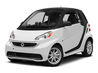 Crystal White 2014 smart fortwo electric drive Pictures fortwo electric drive Coupe 2D Electric photos front view