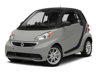 Gray Metallic 2014 smart fortwo electric drive Pictures fortwo electric drive Coupe 2D Electric photos front view