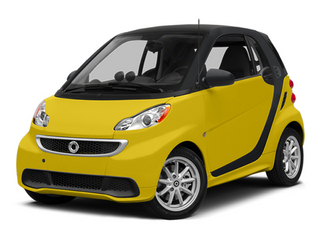 Clear Flame Yellow 2014 smart fortwo electric drive Pictures fortwo electric drive Coupe 2D Electric photos front view