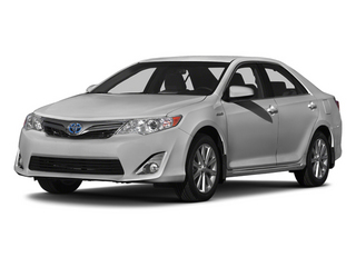 Classic Silver Metallic 2014 Toyota Camry Hybrid Pictures Camry Hybrid Sedan 4D LE I4 Hybrid photos front view