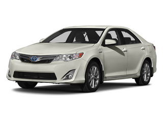 Creme Brulee Mica 2014 Toyota Camry Hybrid Pictures Camry Hybrid Sedan 4D LE I4 Hybrid photos front view