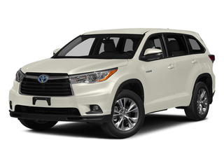 Blizzard Pearl 2014 Toyota Highlander Hybrid Pictures Highlander Hybrid Utility 4D Limited 4WD V6 Hybrid photos front view