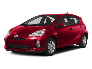 Absolutely Red 2014 Toyota Prius c Pictures Prius c Liftack 5D c I4 Hybrid photos front view
