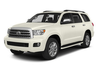Blizzard Pearl 2014 Toyota Sequoia Pictures Sequoia Utility 4D Platinum 4WD V8 photos front view