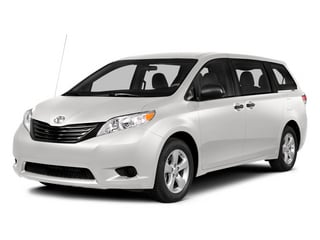 Super White 2014 Toyota Sienna Pictures Sienna Wagon 5D LE AWD V6 photos front view