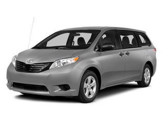 Silver Sky Metallic 2014 Toyota Sienna Pictures Sienna Wagon 5D LE AWD V6 photos front view