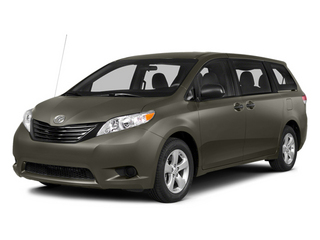 Predawn Gray Mica 2014 Toyota Sienna Pictures Sienna Wagon 5D LE AWD V6 photos front view