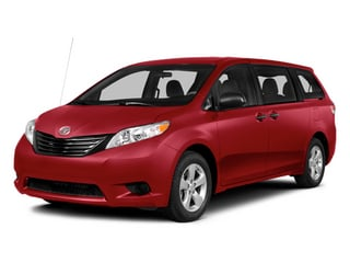 Salsa Red Pearl 2014 Toyota Sienna Pictures Sienna Wagon 5D LE AWD V6 photos front view