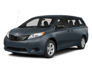 Shoreline Blue Pearl 2014 Toyota Sienna Pictures Sienna Wagon 5D LE AWD V6 photos front view