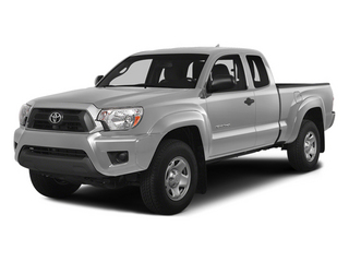 Silver Sky Metallic 2014 Toyota Tacoma Pictures Tacoma Base Access Cab 2WD I4 photos front view