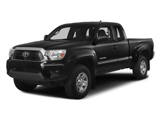 Black 2014 Toyota Tacoma Pictures Tacoma Base Access Cab 2WD I4 photos front view