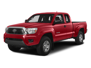 Barcelona Red Metallic 2014 Toyota Tacoma Pictures Tacoma Base Access Cab 2WD I4 photos front view