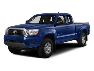 Blue Ribbon Metallic 2014 Toyota Tacoma Pictures Tacoma Base Access Cab 2WD I4 photos front view