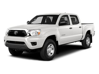 Super White 2014 Toyota Tacoma Pictures Tacoma Base 4WD V6 photos front view
