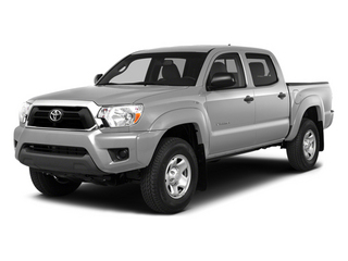 Silver Sky Metallic 2014 Toyota Tacoma Pictures Tacoma Base 4WD V6 photos front view