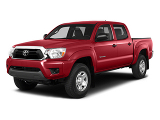 Barcelona Red Metallic 2014 Toyota Tacoma Pictures Tacoma Base 4WD V6 photos front view